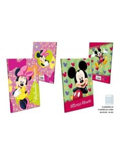Cuaderno A5 - C4 90gr. 48 H.   Mickey. Pack de 8 Udes. - K.Bazar