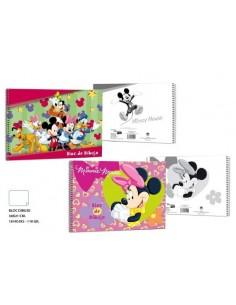 Block Dibujo 110g. 18 H.  Mickey. Pack de 10 Udes. - K.Bazar