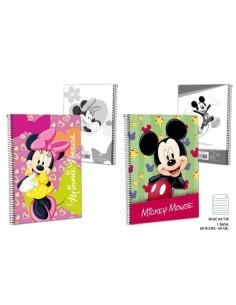 Block A4 1R T/B 60g. 60 H.  Mickey. Pack de 10 Udes. - K.Bazar