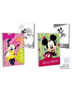 Block A4 C4 T/B 60g. 60 H.  Mickey. Pack de 10 Udes. - K.Bazar