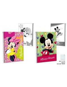 Bock 1/4 - 2R T/B 60 gr. 80H. Mickey. Pack de 10 Udes. - K.Bazar