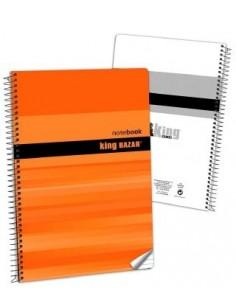Block Folio 1R T/B  80 H. 56g.  Color. Pack de 10 Udes. - K.Bazar