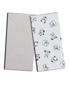 Bolsas rectangulares 10x25 cm Mod. P.Blancos. Pack  100 unidades