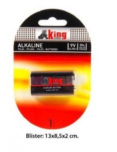 Pilas Alcalinas LR9  1 Udes. - Estuche 12 Blisters.K.B.