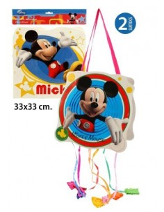 Piñata Mediana 2 Unidades Surtidas Mikey.