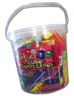 Cubo  Candy Mix cumpleaños  1.500 grs